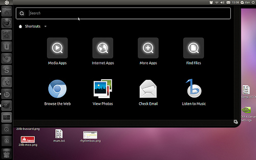 A screenshot of the Unity desktop